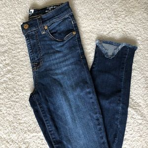 7 For All Mankind HW ankle gwenevere